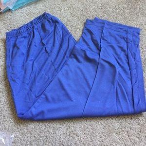 Blue Pull On Pants